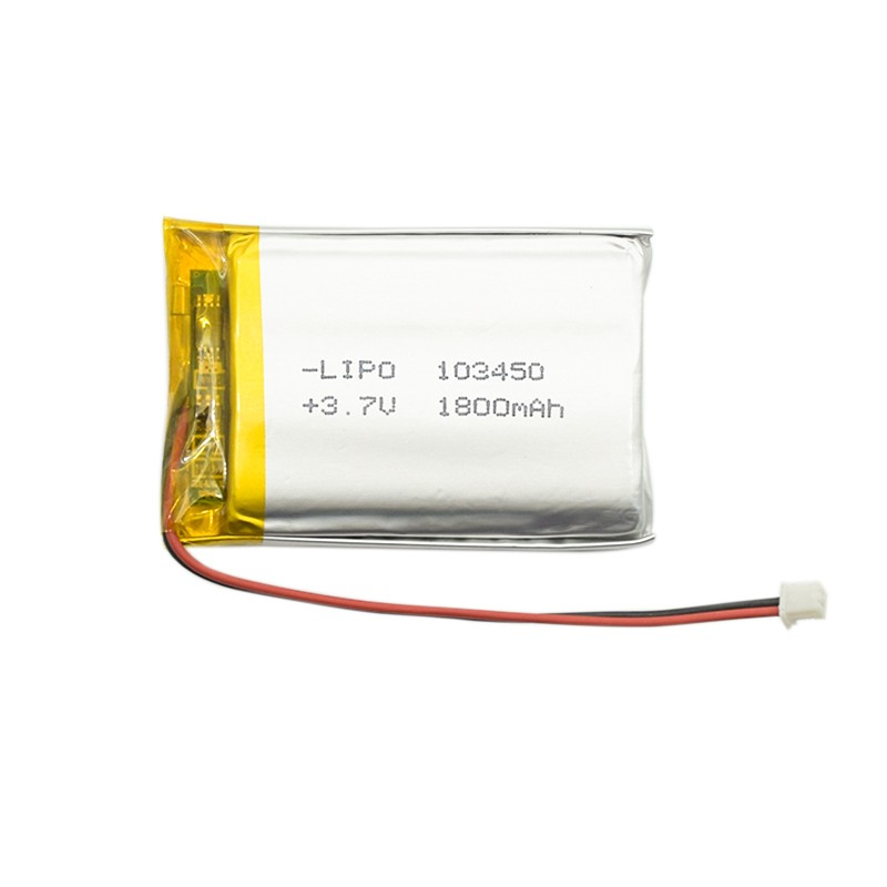 3.7v lithium polymer rechargeable battery