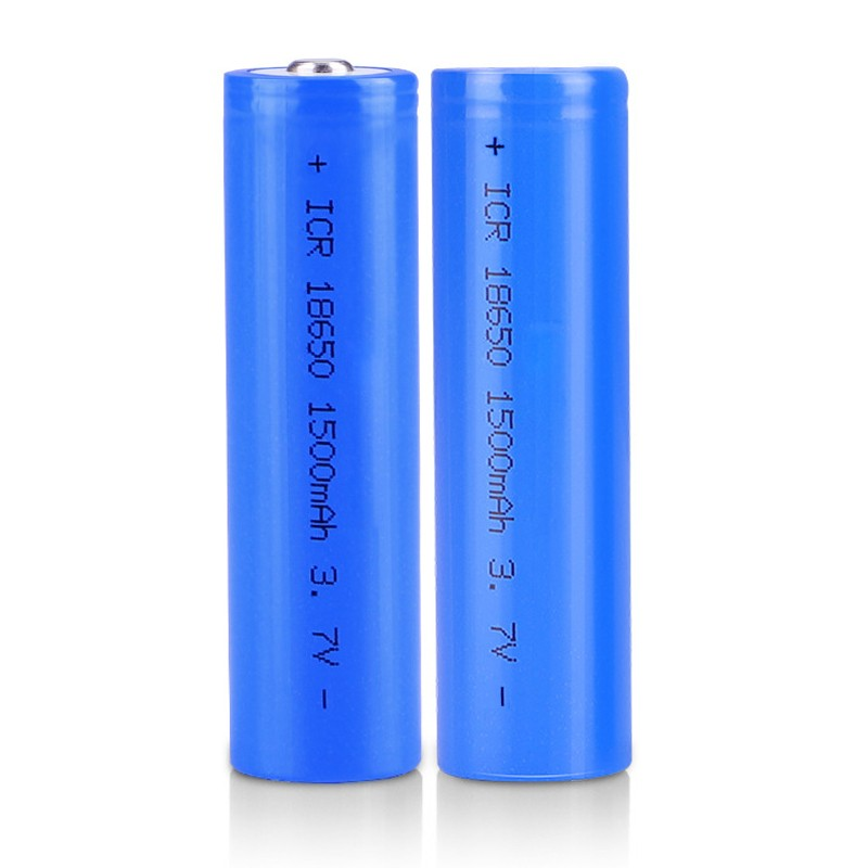 Wholesale ShenZhen Lifepo4 3.2V 3.6V 3.7V IFR18650 ICR18650 1500mAh Lithium Li-ion Rechargeable Battery Cell ICR 18650 Li ion