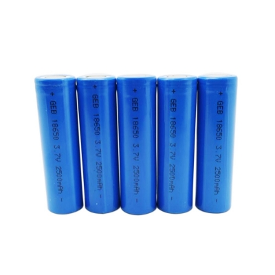 High rate 3C li-ion 18650 3.7V  2500mAh  battery