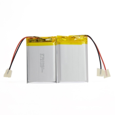 3.7V 1100mAh prismatic lithium polymer battery for electronics gadgets