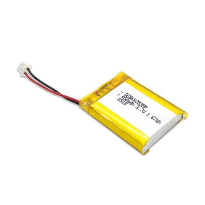 602535 3.7V 450mah Rechargeable lithium polymer battery