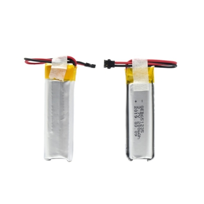 651235 3.7V 200MAH lipo lithium ion li-po battery