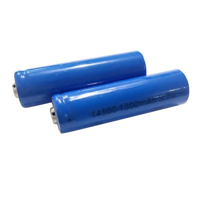 Cylindrical Lithium Battery ICR14650 14650 3.7v Rechargeable Battery 1200mah for Electric Toothbrush