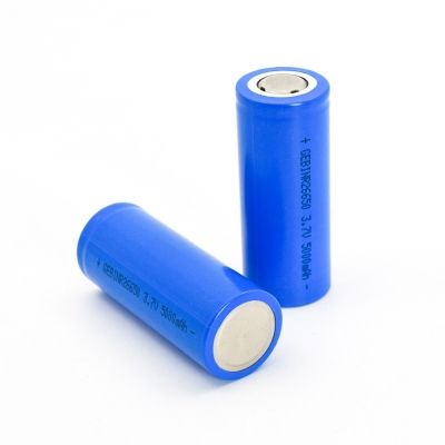 Rechargeable Lithium Li ion Li-ion Batteries 3.7V 5000mAh 26650 Battery Cell